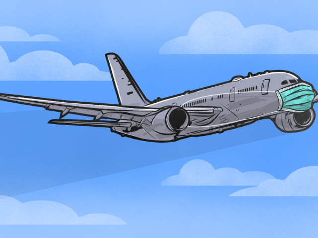 Cómo evitar entrar en kontakto con gérmenes cuando viajes en avión