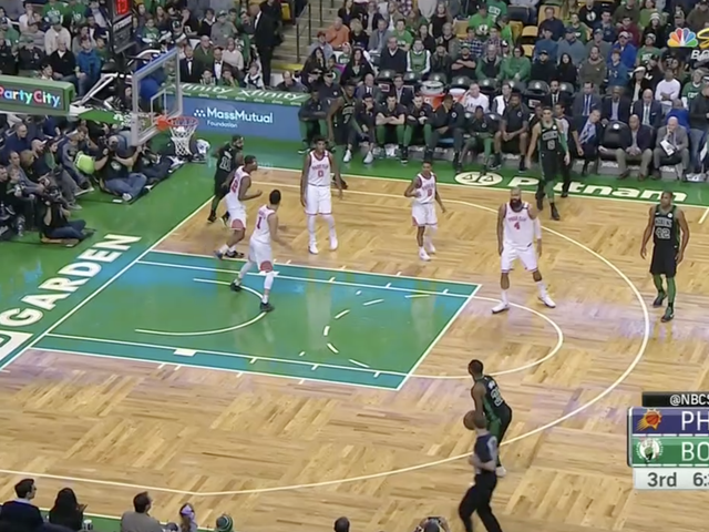 Here Is The Exact Moment The Suns Gave Up