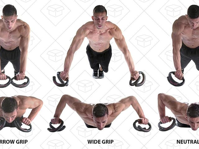 Find Perfect Form With These Discounted Pushup Bars