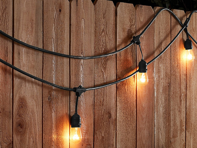 String Up Weatherproof Lights In Your Backyard For Only $35