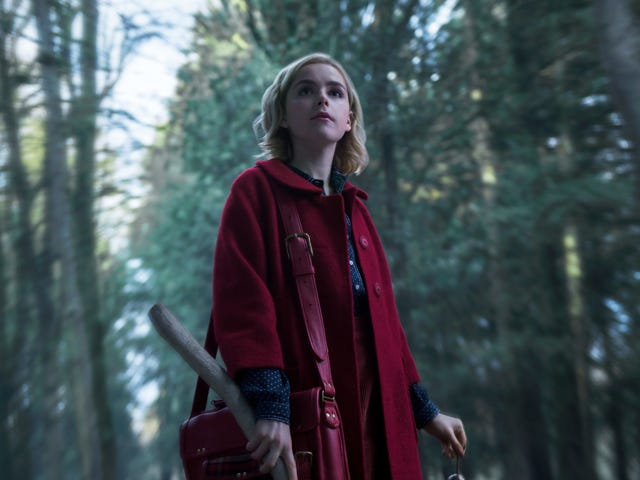 Hail Satan! Bow Before These New Witchy Photos From The Chilling Adventures of Sabrina