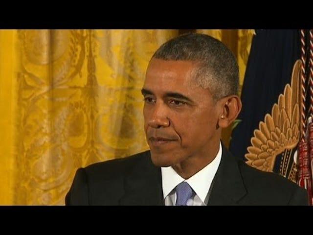 Pres.  Ομπάμα: Δεν υπάρχει τρόπος να ανακληθεί το μετάλλιο της ελευθερίας του Bill Cosby