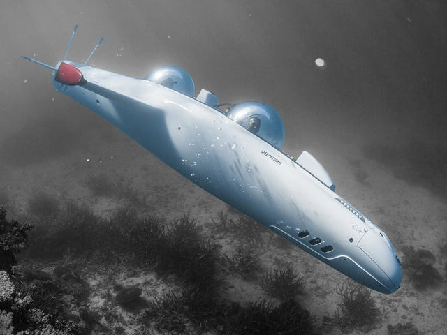 Explore the Ocean Deep in a Personal Submarine