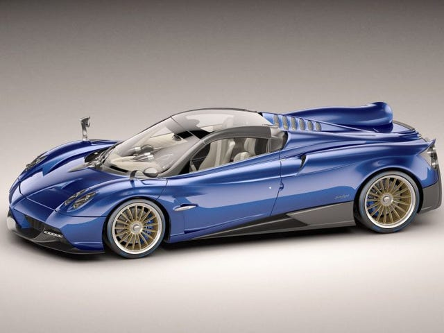 Meet the New Huayra Roadster!