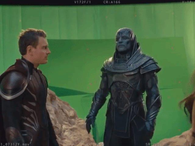 This <i>X-Men: Apocalypse</i> Blooper reel có Oscar Isaac Dancing, minh chứng cho toàn bộ bộ phim