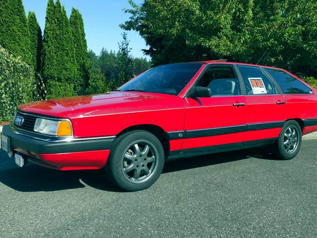 Is This 1987 Audi 5000 CS Quattro Turbo Avant Old School Cool Enough to Ask $4,500?