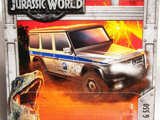 A Brief Car Week Interruption - Jurassic Style