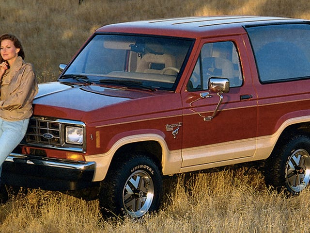 Will The Ford Bronco II Ever Get A Chance To Be Cool?