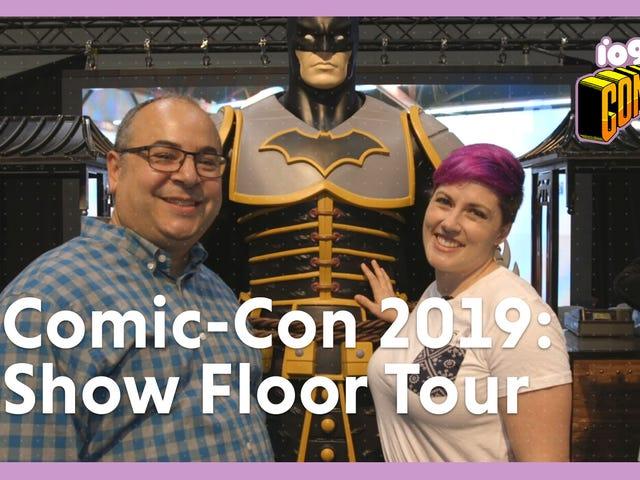 io9 Takes You on a Tour Inside San Diego Comic-Con 2019's Show Floor