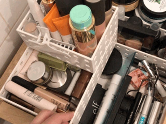 The Container Store's Like-It Bricks Make The Perfect Alternative Makeup Storage