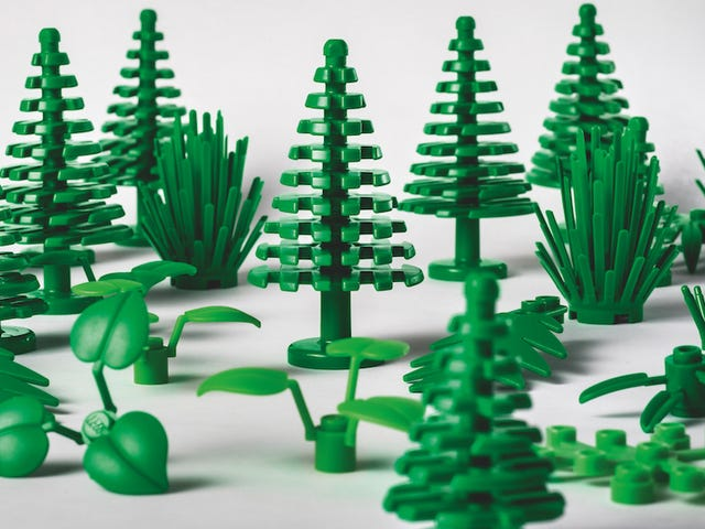 Lego's New Plant Bricks Are Made of, Well, Plants