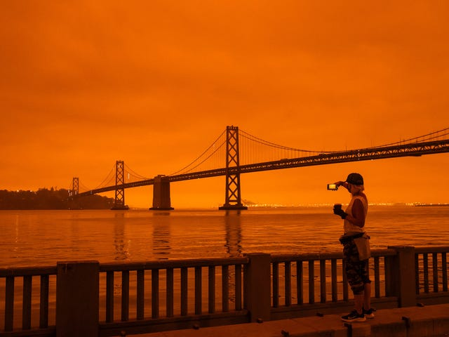 California's Red Skies Aren't Just a Glimpse of Our Future—They're Past Mistakes Come to Life