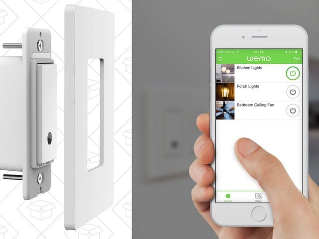 Turn Any Light Into a Smart Light With This Discounted WeMo Switch