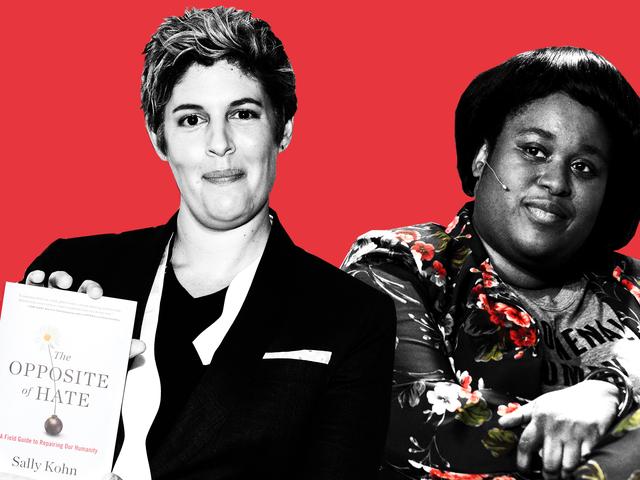 The Opposite of Respect: Sally Kohn and the 'Exploitation' of Aminatou Sow