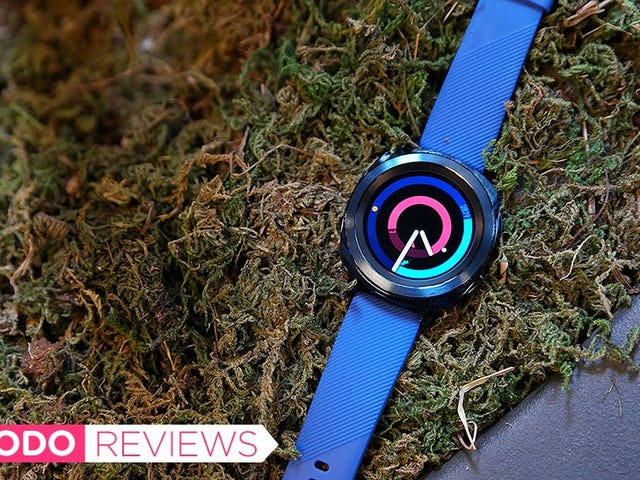 Samsung's Gear Sport Is Easier to Use Than the Apple Watch, But Where Are My Damn Apps?