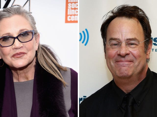 Dan Aykroyd Makes Getting Dumped by Carrie Fisher Sound Incredibly Romantic