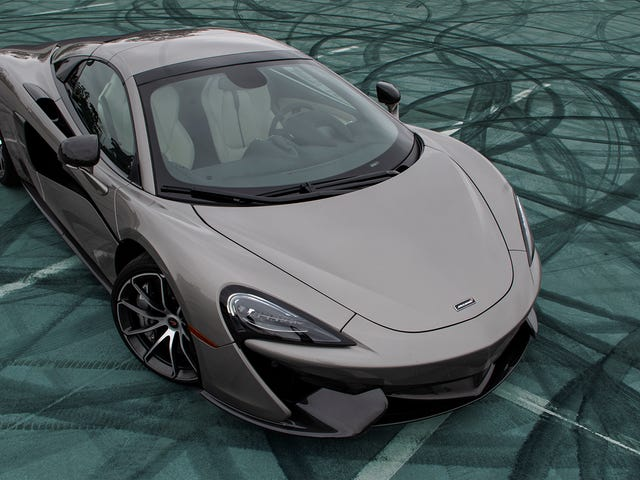 Screw It, McLaren's 'Blade Silver' Is My New Favorite Car Color