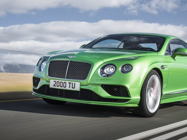 Bentley Debuts $200,000+ Coupe In Same Color As Your Roommate's Hyundai