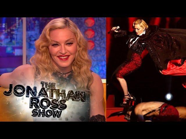 """Madonna in autunno: """"Non mi sono fatto male il culo, mi fa male la testa"""""""