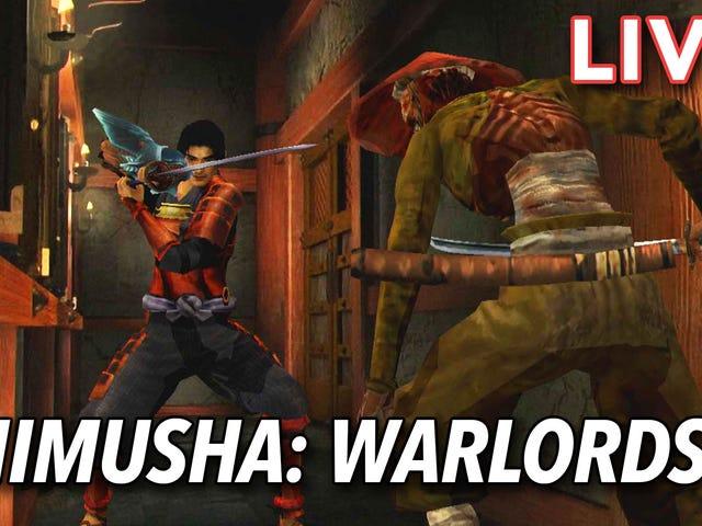 Tôi đang có một chuyến đi trở về năm 2001 và chơi bản remaster HD của Onimusha Warlords