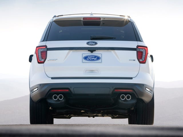 The 2018 Ford Explorer Comes With New Quad Exhausts And That's About It
