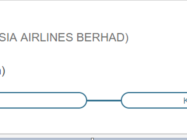 My Work Travel Agency Suggested this as a Possible Flight