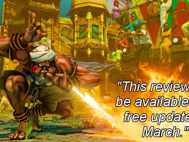 <i>Street Fighter V</i> , como dito pela Steam Avaliações