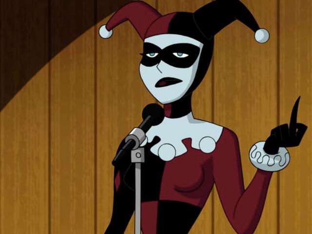 Бэтмен и Харли Куинн дают большой средний палец любимому антивиллайну