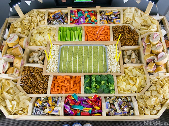 Build This Snack Stadium If You Are Insane and Also an Architect