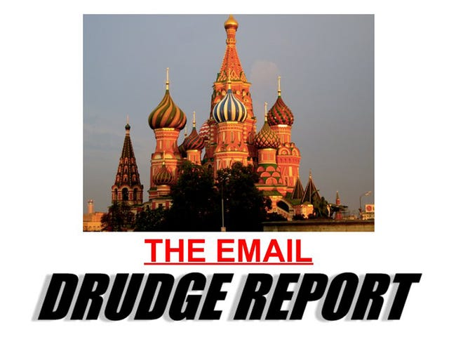 Even the Drudge Report Has Finally Turned on Trump