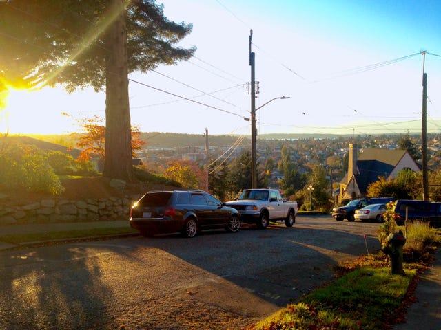 Morning phonetography: phinney ridge Avant edition