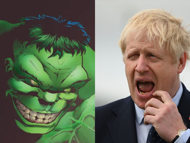 Mark Ruffalo reagerer som en hævn for Boris Johnsons forsøg på at sammenligne Hulk med Brexit
