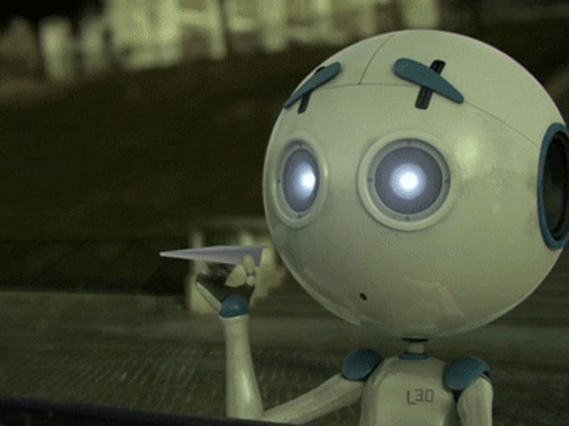 Short film: A lonely robot looking for friends is not what it seems