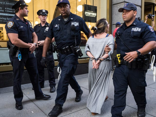 Six Arrested at Amazon Store Amid Anti-ICE Protest in NYC