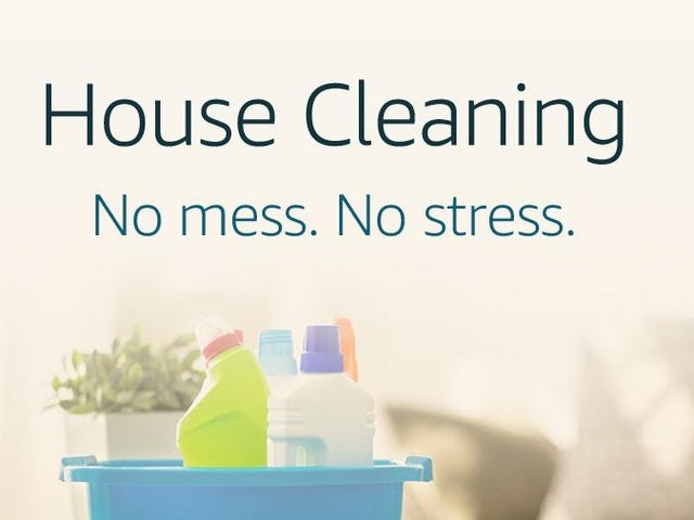 Save $20 When You Schedule a Deep Cleaning With Amazon