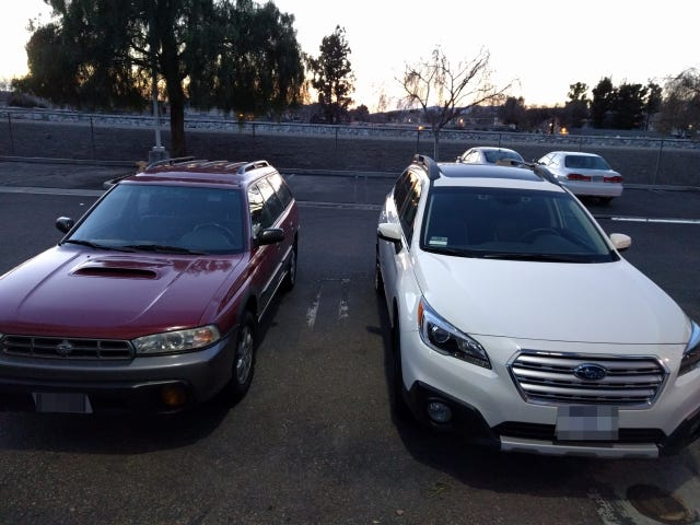 18 Years of Subaru Outback