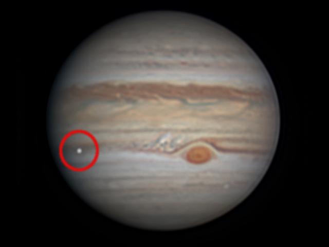 Something Big Just Slammed Into Jupiter