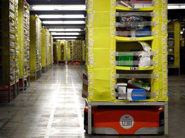 Το πείραμα του Αμαζονίου για να ξεφορτωθεί τους ταμίες λέγεται ότι επεκτείνεται σε μεγαλύτερα καταστήματα δοκιμών