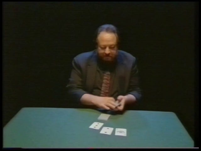 Ricky Jay and House of Games (1987)