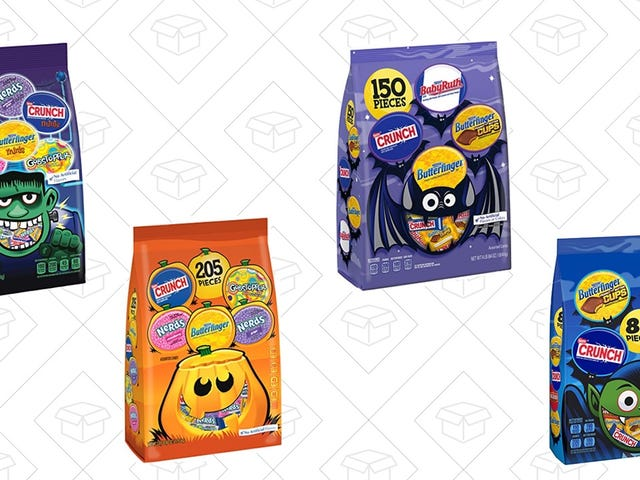 Scare Yourself into Halloween Season with 20% Nestle Candy