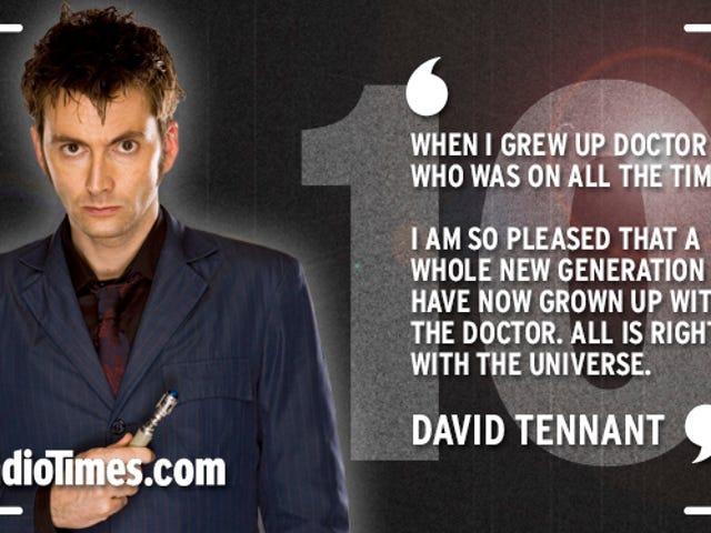 Nichts auf der Hauptseite zum 10-jährigen Jubiläum von Doctor Who