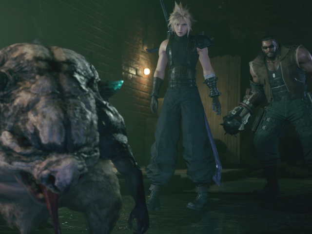 When Final Fantasy VII Remake Broke My Heart, Chasing A Pig Proved Strangely Therapeutic