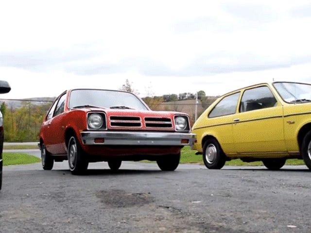Sie werden nicht glauben, wie viel shittier Compact Cars vor 40 Jahren waren