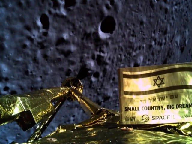 Misión fallida: la nave israelí Beresheet se ha estrellado contra la Luna