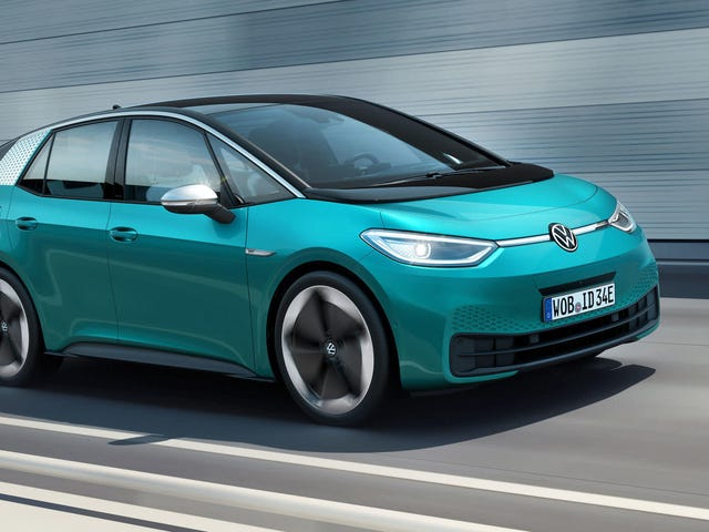 The 2020 Volkswagen ID.3 Aims To Be A 341-Mile Electric People's Car