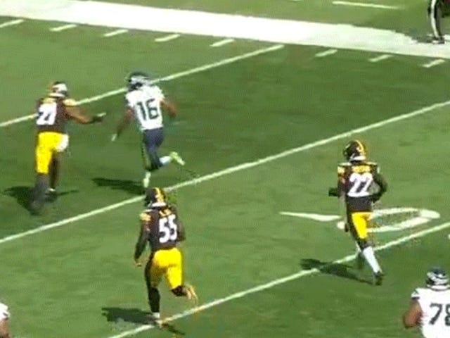 Questo flop ha salvato un touchdown