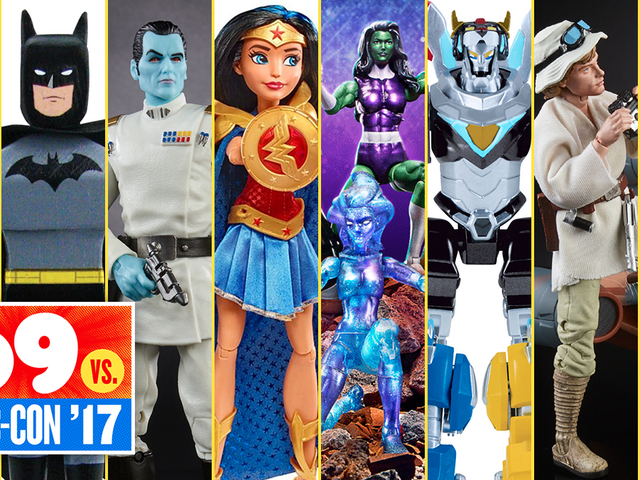 The Most Amazing (and Hard to Get) Toys and Collectibles at San Diego Comic-Con 2017