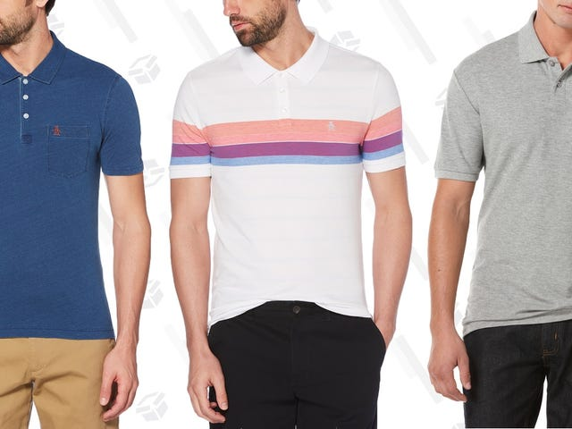 Please Form an Orderly Line, There Are Enough $18 Original Penguin Polos For Everyone