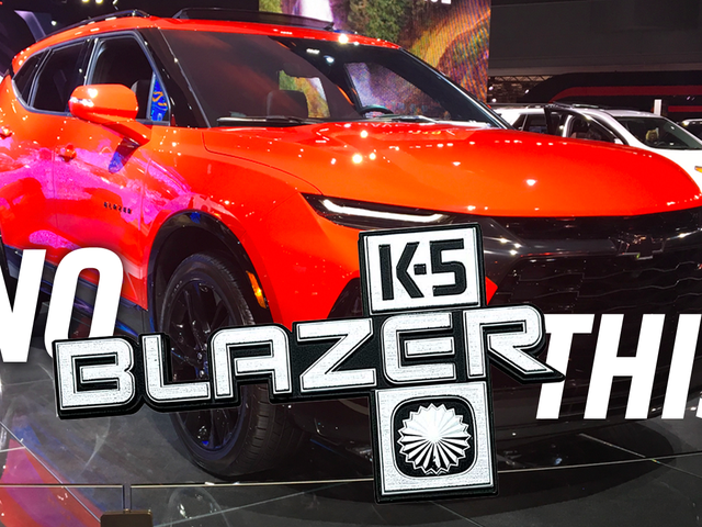 The 2020 Chevy Blazer So Disappointing It Hurts a Bit
