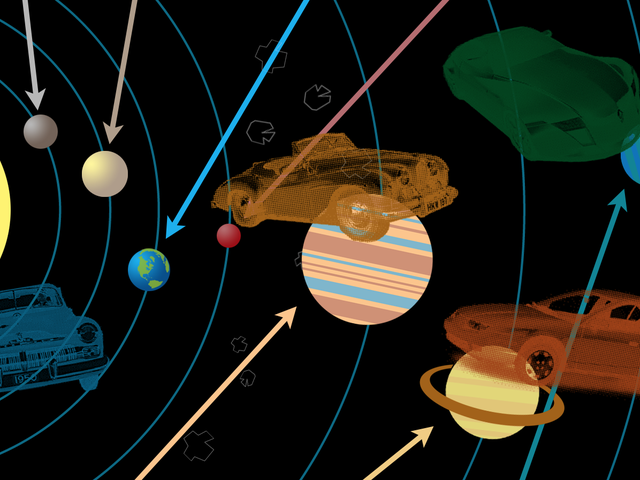 These Are The Cars Of The Solar System